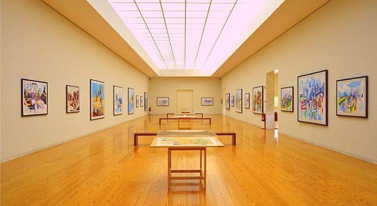 Interior do Museu Nadir Afonso